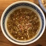 115668094 - つけ麺いちびり Nつけ麺 スープ