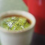 松葉茶屋 - そば湯