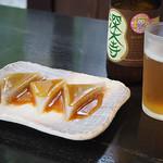 松葉茶屋 - 味噌おでん