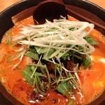 王朝 - 五穀豊穣の担担麺(880円)