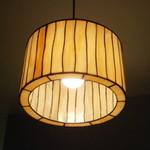 シャントレル - 席の上にあった電燈