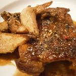 シャントレル - あちきのメイン フランス産地鶏 茸ソース