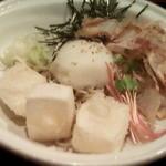 そじ坊 - 料理写真:冷し揚げ餅そば