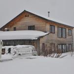 パン工房ゴーシュ+CAFE - 真冬の外観です
