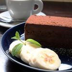 エービーシーカフェ - 生チョコケーキ 450円