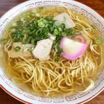 真木食堂 - 中華そば(並)