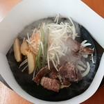 肉のはせ川 - カットステーキ 100g 690円+税