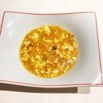 115672783 - 絹豆腐の上海蟹ミソ煮込み