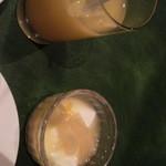 キッキリッキ - 杏仁豆腐、ジュース