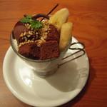 ピアサピド - 料理写真:チョコパフェ