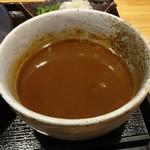 115680965 - 濃厚つけ麺のスープ