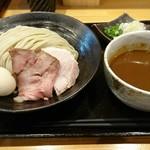 115680967 - つけ麺大盛+味玉