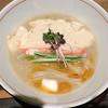 麺と心 7 - 料理写真:蟹白湯らーめん(2019年9月前半限定)