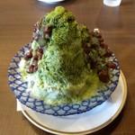 倉式珈琲店 - たっぷり茹であずきの抹茶金時