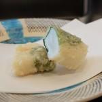 割烹 天ぷら 三太郎 - いか