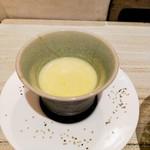 天麩羅 おばた - スープ
