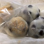 Demachifutaba - 豆餠と新栗餠
