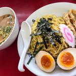 日和田製麺所 - 特製醤油煮玉子つけ麺@830円