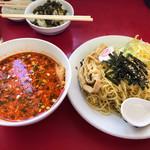 日和田製麺所 - 辛みそつけ麺@930円
