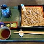 ざる蕎麦せと - 白川そば(十割)