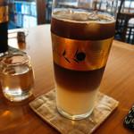 ニハチ喫茶 - ドリンク写真:アイスカフェオレ