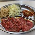 東 - 料理写真:国産カルビランチ