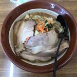 らーめん龍二 - 料理写真:特製野菜味噌らーめん 990円