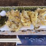 蕎麦 みづ乃 - 舞茸