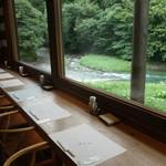 小来川 山帰来 - 川を望む特等席