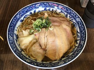 寿製麺 よしかわ 保谷店 - 「煮干わんたんめん」800円