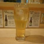 竹うち - ドリンク写真:柑橘系?のソフトドリンク(T_T)