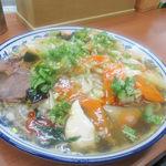 蘭州料理 ザムザムの泉 - 夏季限定冷製餡かけ