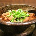 八十伴 - どて煮(八丁味噌のモツ煮)