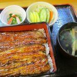うなぎ福竹 - 料理写真:うな重(福)3100円