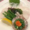 大衆割烹 ひかり - 料理写真:クエ刺 980円