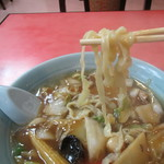 萬来軒 - 萬来軒特製ラーメン(麺)