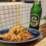 旅人シェフのタイ食堂 KHAO -  ソムタム(青パパイヤのサラダ)