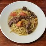 RISE Pasta&Grill - 牛赤身ステーキのパスタ