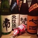 創作家庭料理 Dining禅 - おすすめ日本酒