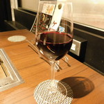焼肉 じゅん - ドリンク写真:グラスワインの赤