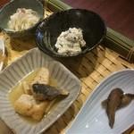 田中マネの食堂 - ランチ(火ようび):あえもの、酢のもの etc.