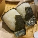 田中マネの食堂 - ランチ(火ようび):おむすび