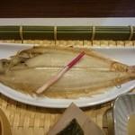 田中マネの食堂 - ランチ(火ようび):笹ガレイ