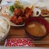 ハピネスきっちん - 料理写真:唐揚げ定食ご飯大盛り