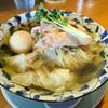 麺処 清水 - 料理写真:冷やし煮干ワンタンそば900円