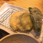 八寸 - 野菜の天ぷら