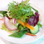 115745939 - 野菜のおいしいサラダ
