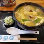 菜月庵 - 肉カレーうどん 850円