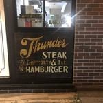 CALIFORNIA DINING THUNDER STEAK&HAMBURGER - その他写真: