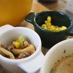 欧風カレーとオムライス リトルヤミー  - たっぷり野菜 ヤミーオムカレー